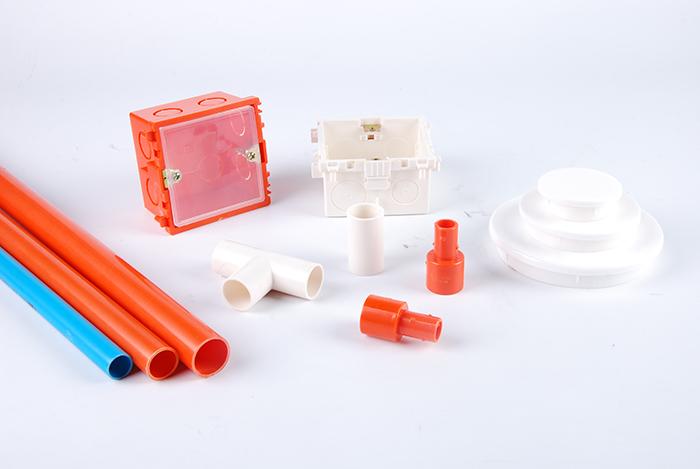 PVC电工套管的分色特性