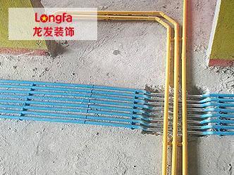 龙发装饰PVC穿线管订购案例