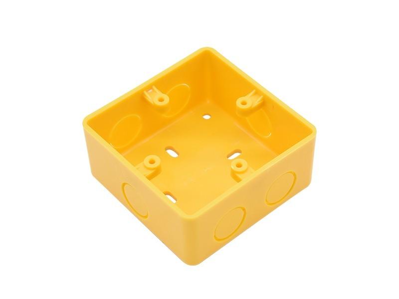 PVC普通明装底盒