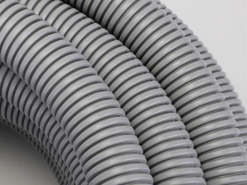 灰色波纹管