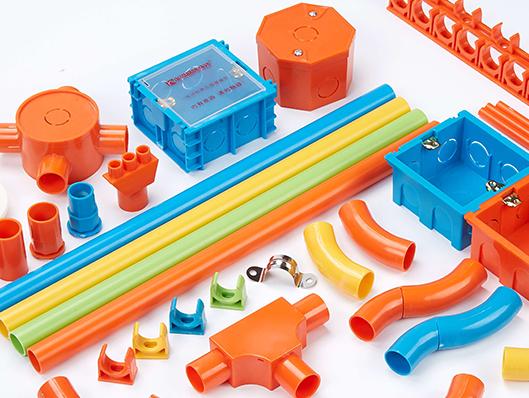 材通浅析PVC电工套管的分色特性