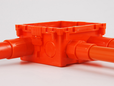 PVC接线暗盒如何安装?