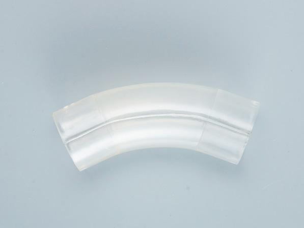 PVC透明135度T型弯