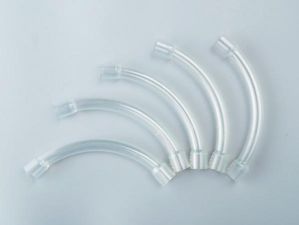 PVC透明90度大弯头