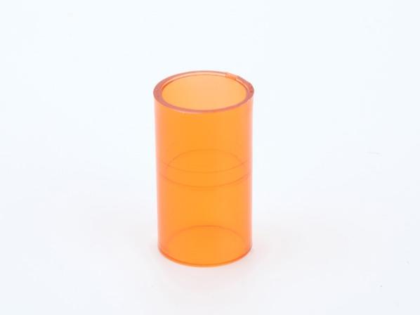 PVC红蓝透明线管直通