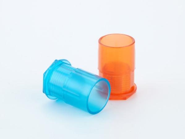 PVC红蓝透明线管杯梳