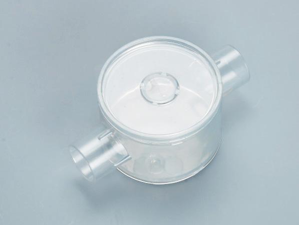 PVC透明圆直通接线底盒