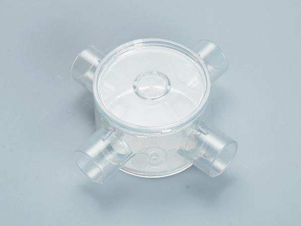 PVC透明圆四通接线底盒