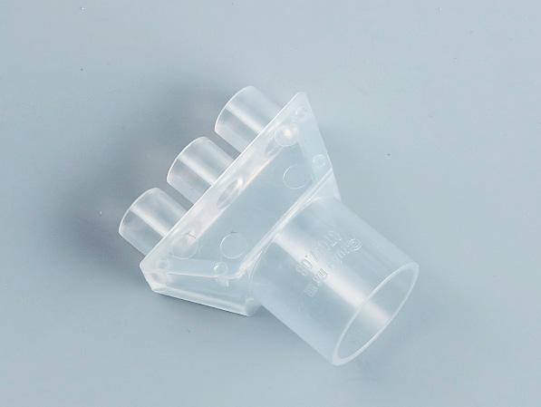 PVC透明单线管四通