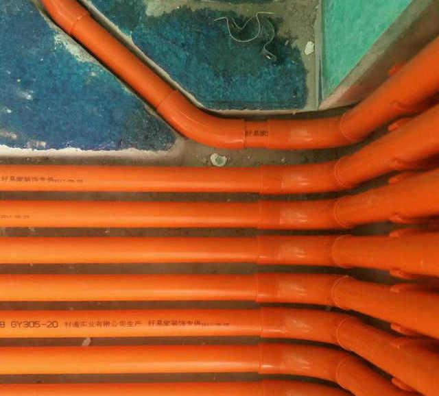 材通专利产品PVC上墙弯工地效果展示